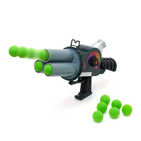 Disney TOY STORY Buzz Lightyear ZURG BLASTER Soft Foam Ball Action Gun - New | EBay