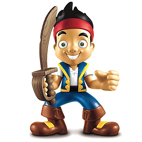 Yo-Ho Let's Go! Jake and the Never Land Pirates Talking Figure