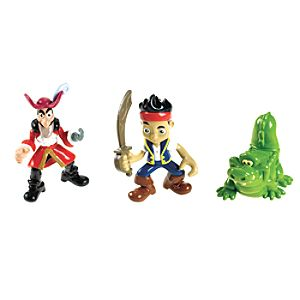 Jake, Captain Hook and Croc Figure Set