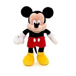 Mickey Mouse 28cm Small Soft Toy
