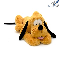 Pluto 39cm Medium Soft Toy