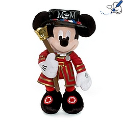 Mickey Mouse Beefeater Soft Toy