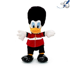 Donald Duck London Guard 42cm Soft Toy