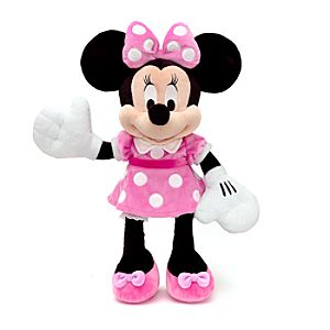 Large Minnie Mouse Soft Toy