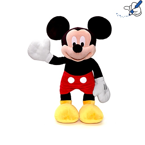 Large Mickey Mouse Soft Toy