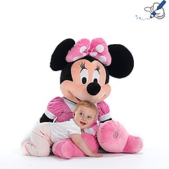 Minnie Mouse Clubhouse Giant Soft Toy