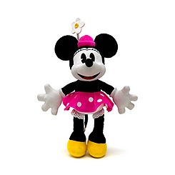 Minnie Mouse 24cm Retro Small Soft Toy