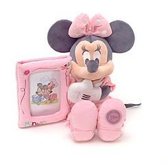 Minnie Mouse 36cm Soft Toy Holding Photo Frame