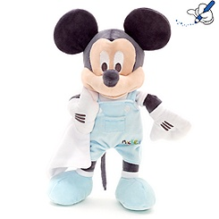 Mickey Mouse 33cm Small Blue Soft Toy