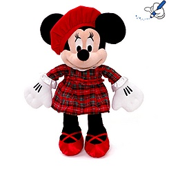 Minnie Mouse Scottish Tartan Soft Toy