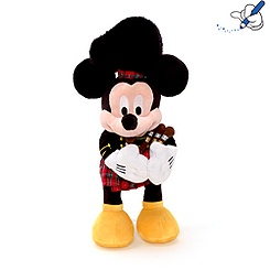 Mickey Mouse Scottish Bagpipe Soft Toy