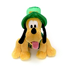 Pluto Irish Soft Toy