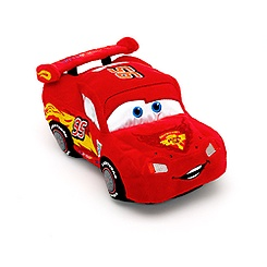 Disney Pixar Cars Lightning McQueen Small Soft Toy