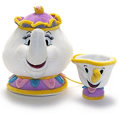 Mrs Potts and Chip Small Soft Toys