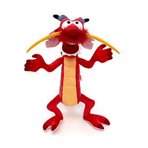 Mulan Mushu http://www.disneystore.co.uk/soft-toys-toys-mushu-38cm-small-soft-toy/mp/45300/1000260/