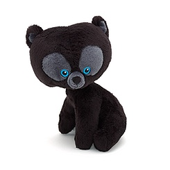 Brave Cub Bear 17cm Mini Bean Bag