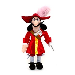 Captain Hook 53cm Soft Toy Doll