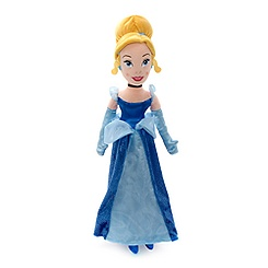 Cinderella 52cm Soft Toy Doll