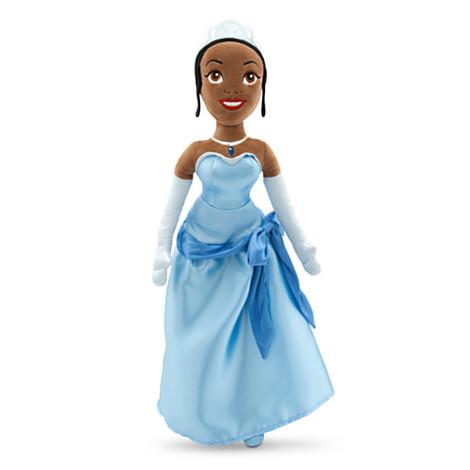 Tiana Soft Toy Doll | Soft Toys | Disney Store