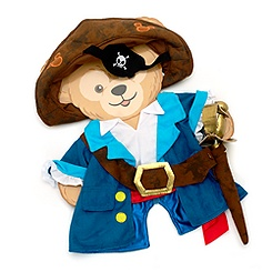 Duffy Pirate Costume For Duffy Bear 43cm Soft Toy