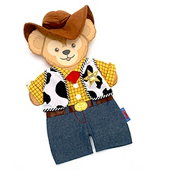 Duffy Woody Costume For Duffy Bear 43cm Soft Toy