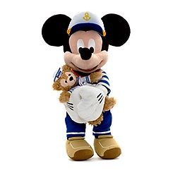 Mickey Mouse With Duffy 44cm Soft Toy