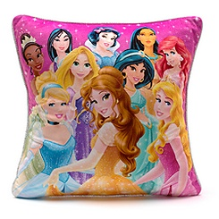 Disney Princess Cushion with Removable Cover
