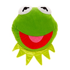 Kermit Big Face Cushion