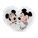 Mickey And Minnie Mouse Wedding Cushion