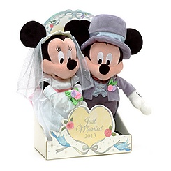 Mickey and Minnie Mouse Wedding Soft Toys