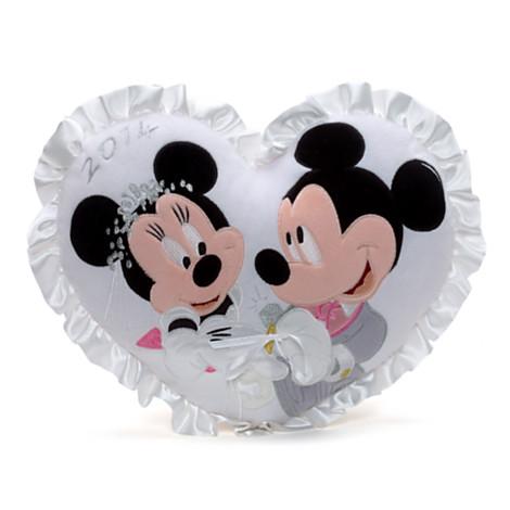 mickey and minnie mouse wedding cushion cushions