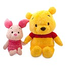 Winnie the Pooh and Piglet Anime Extra Large Soft Toy Set