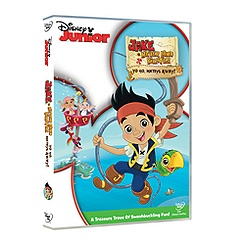 Jake And The Never Land Pirates: Yo Ho, Mateys Away! DVD