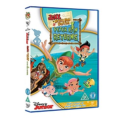 Jake and the Never Land Pirates DVD: Peter Pan Returns