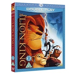 The Lion King Double Play Blu-ray and DVD