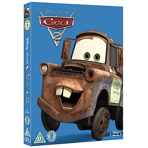 Disney Pixar Cars 2 Blu-ray