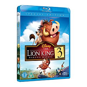 Lion King 3 Blu-ray UK ����