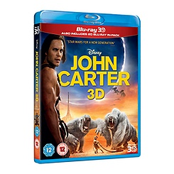 John Carter of Mars 3D Blu-ray