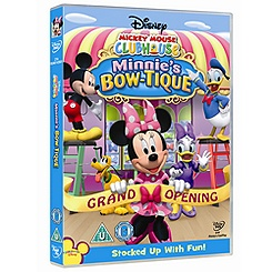 Mickey Mouse Clubhouse DVD: Minnie's Bow-tique