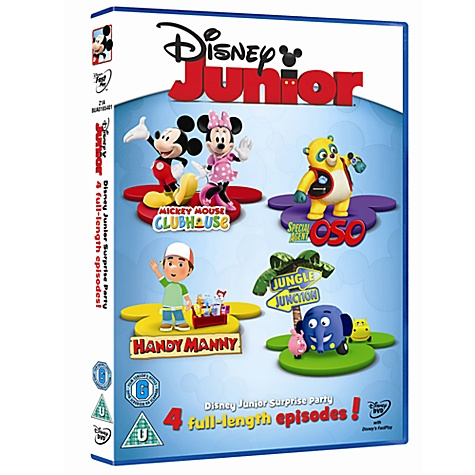 Disney Junior Surprise Party DVD