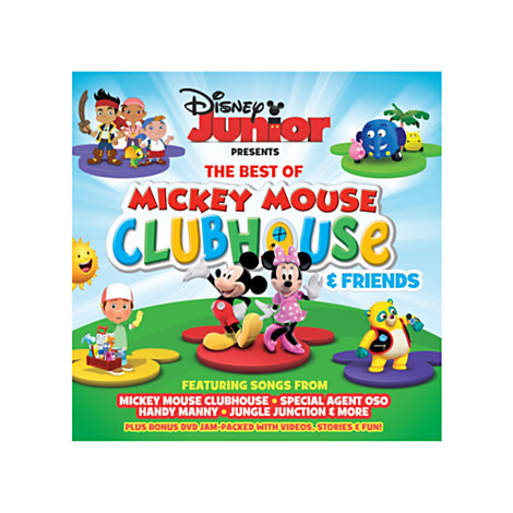 Mickey mouse clubhouse best friends forever songs little pop up