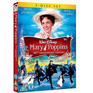 Mary Poppins 45th Anniversary Edition DVD