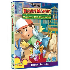 Handy Manny Pet's Round Up DVD
