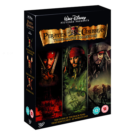 Pirates Of The Caribbean Dvd Set Lookup Beforebuying