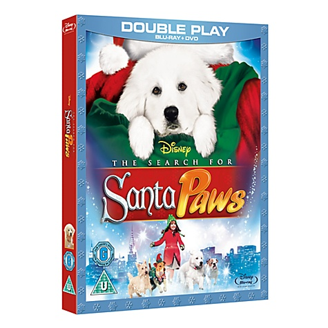 Santa Paws DVD & Blu-ray Double Play