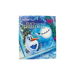 Disney Frozen Olaf's Night Before Christmas Picture Book