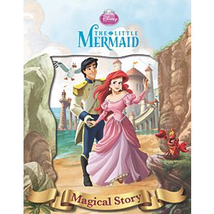 Disney Little Mermaid Magical Story with Lenticular
