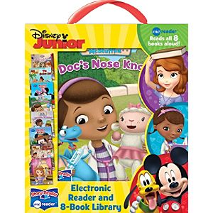 Disney Junior Electronic Reader and 8-Book Library - Electronic Gifts