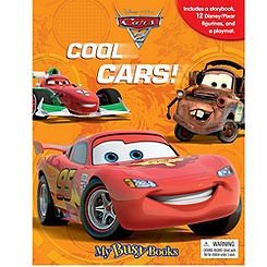 Disney Pixar Cars 2 My Busy Book
