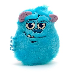 Monsters University A5 Fluffy Character Note Book, Sulley